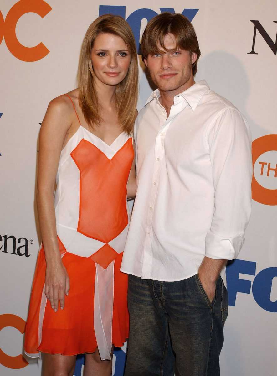 Mischa Barton and Chris Carmack attend 'The O.C.' Season Finale Party