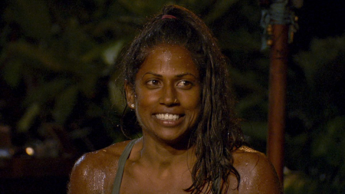 Natalie Anderson at Tribal Council on the three-hour season finale episode of 'Survivor: Winners at War'