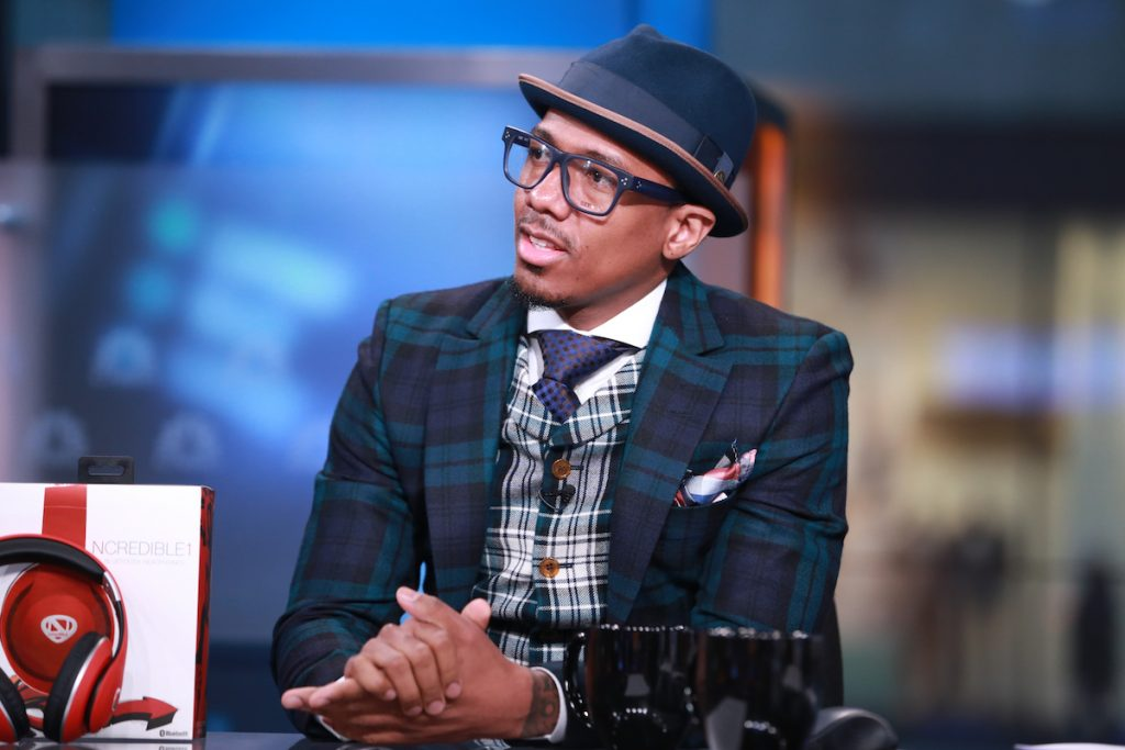 Nick Cannon in an interview