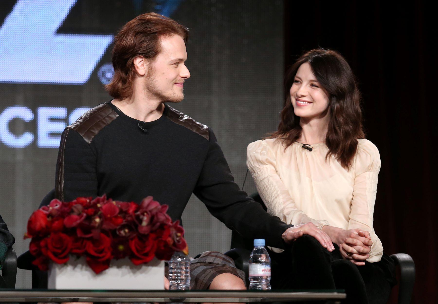 'Outlander' stars Sam Heughan and Caitriona Balfe