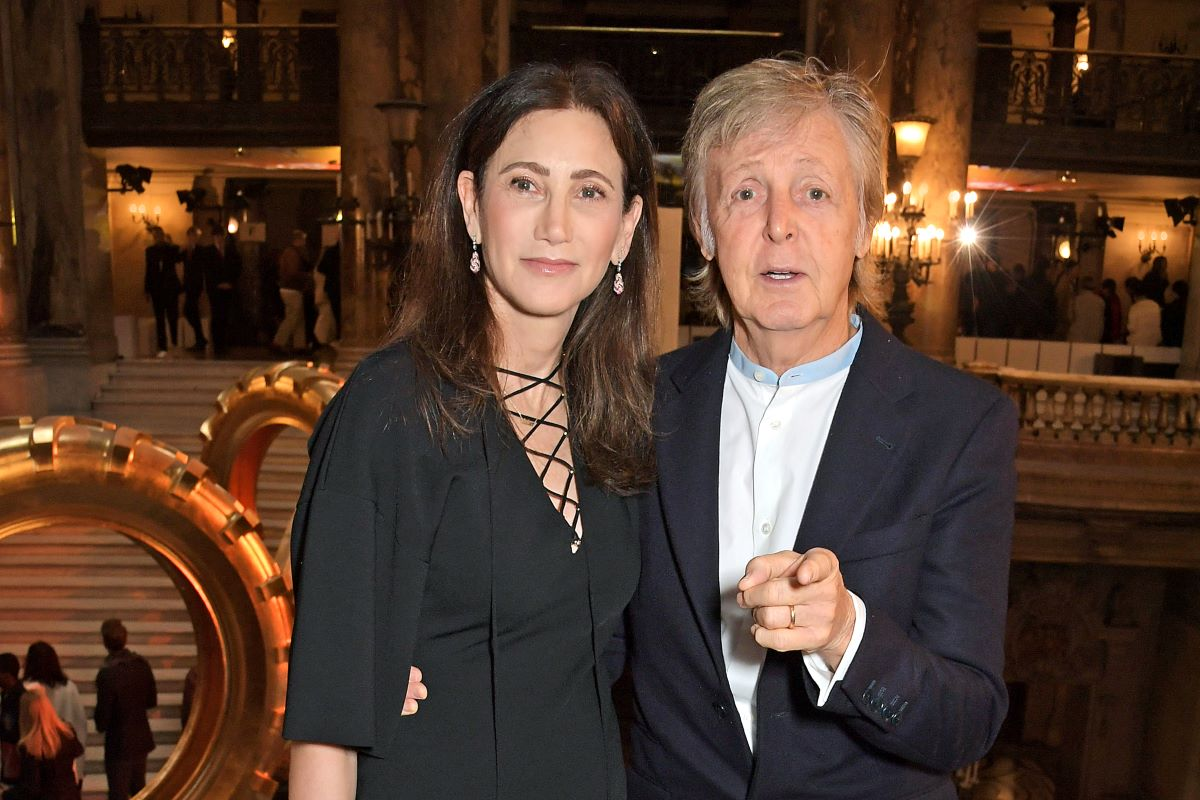 Paul McCartney and Nancy