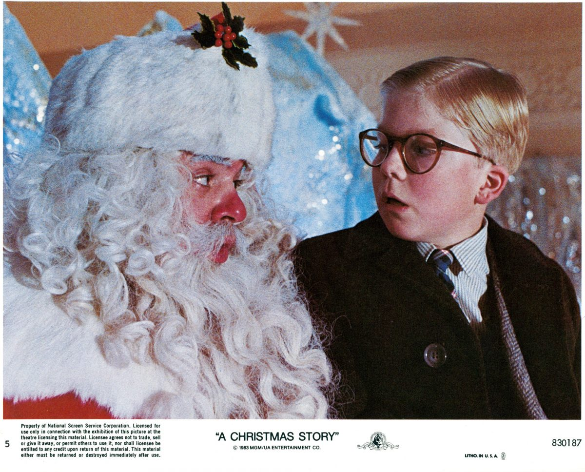 Peter Billingsly in A Christmas Story