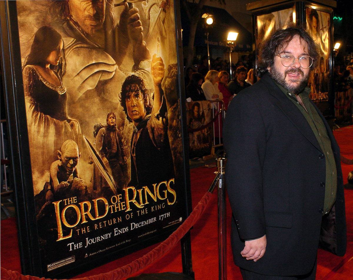 Peter Jackson at 'The Lord Of The Rings: The Return Of The King' premiere