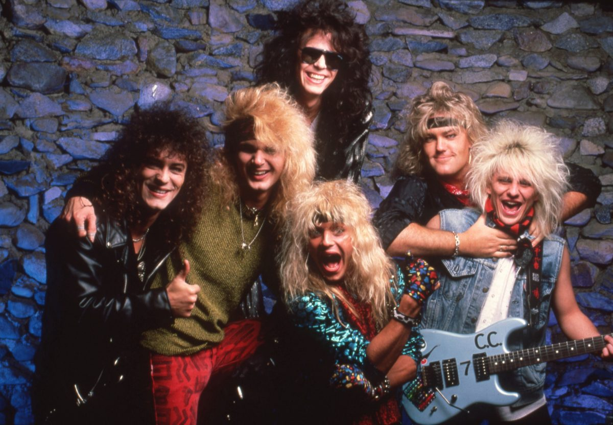 American glam rock band Poison