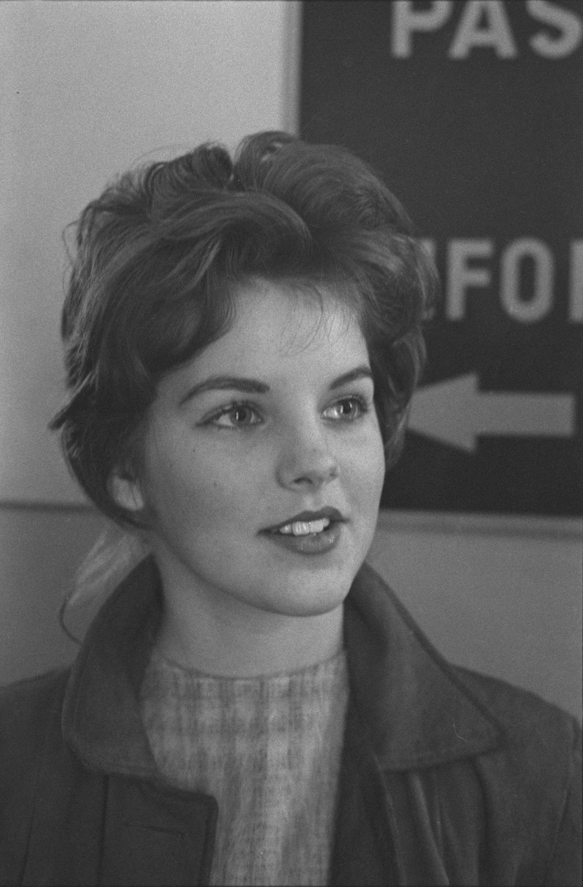 Priscilla Beaulieu in 1960
