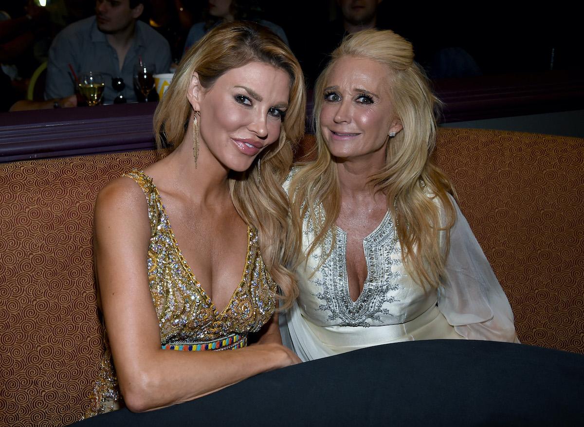 Brandi Glanville and Kim Richards