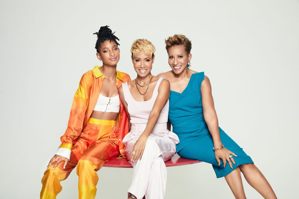'Red Table Talk' Willow Smith, Jada Pinkett Smith, and Adrienne Norris-Banfield