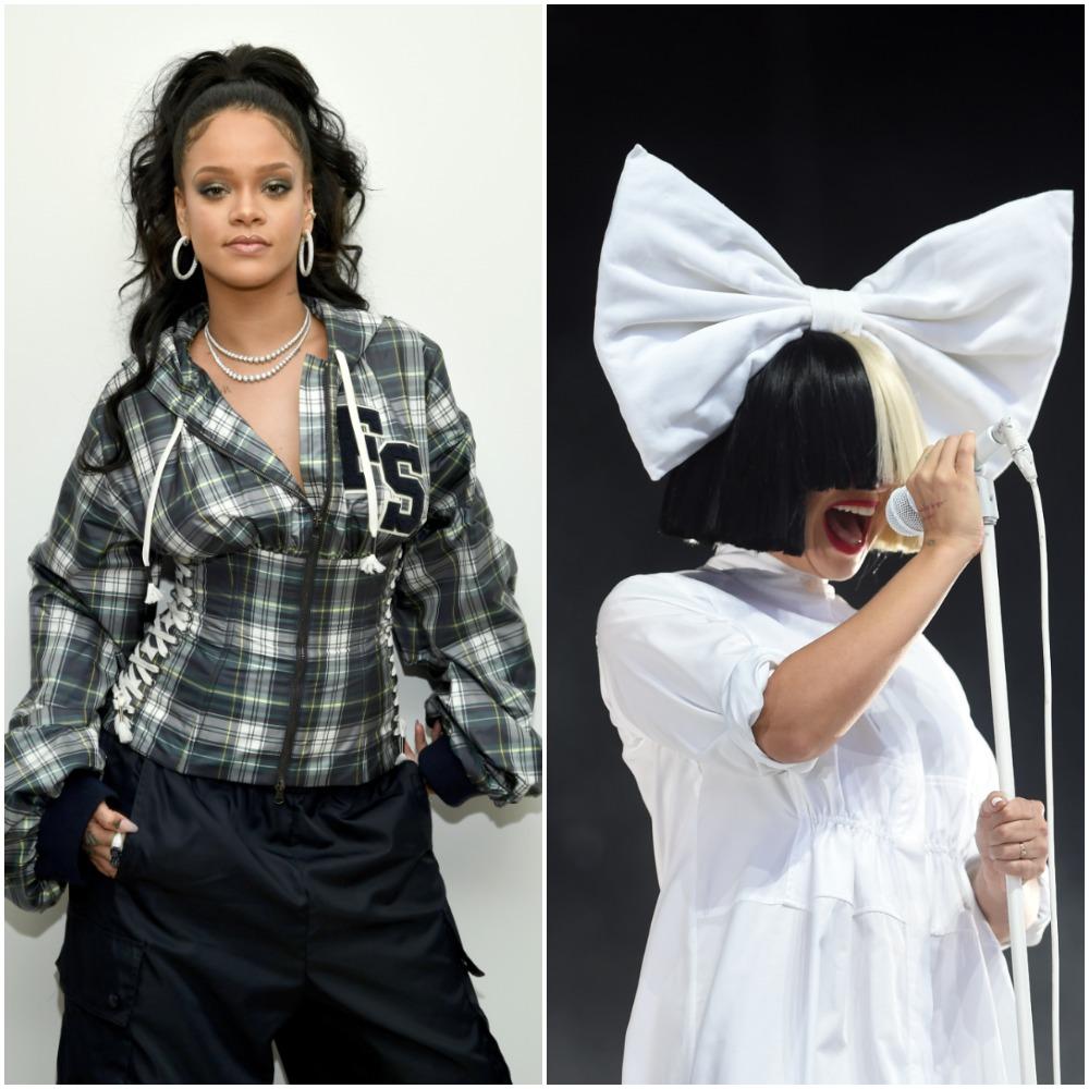 Rihanna; Sia