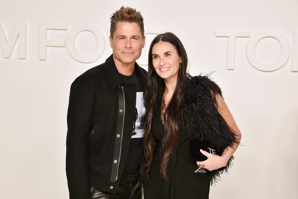 Rob Lowe and Demi Moor