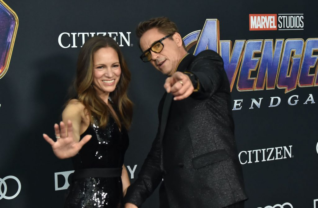 Robert Downey and Susan Levin
