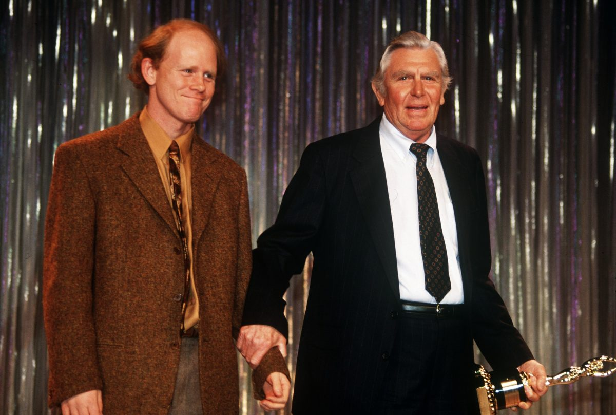 Ron Howard and Andy Griffith Iris Award