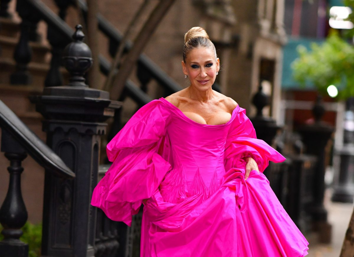 Sarah Jessica Parker in New York City in 2019