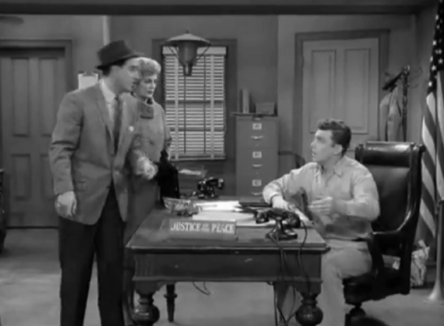 A scene from 'Danny Meets Andy Griffith'