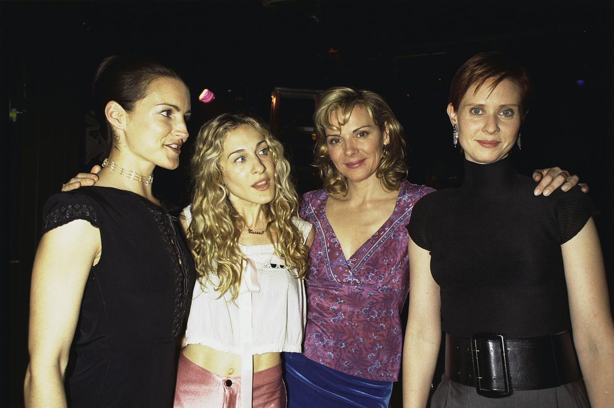 Kristin Davis, Sarah Jessica Parker, Kim Cattral and Cynthia Nixon