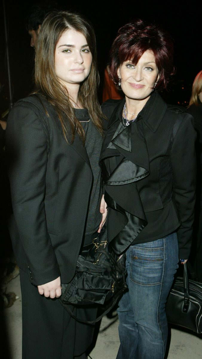 Aimee Osbourne and Sharon Osbourne during 'The Heart is Deceitful Above All Things' Wrap Party at Chateau Marmont