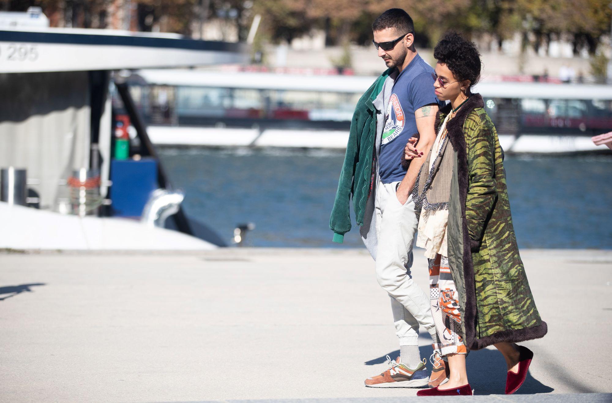 Shia LaBeouf and FKA Twigs