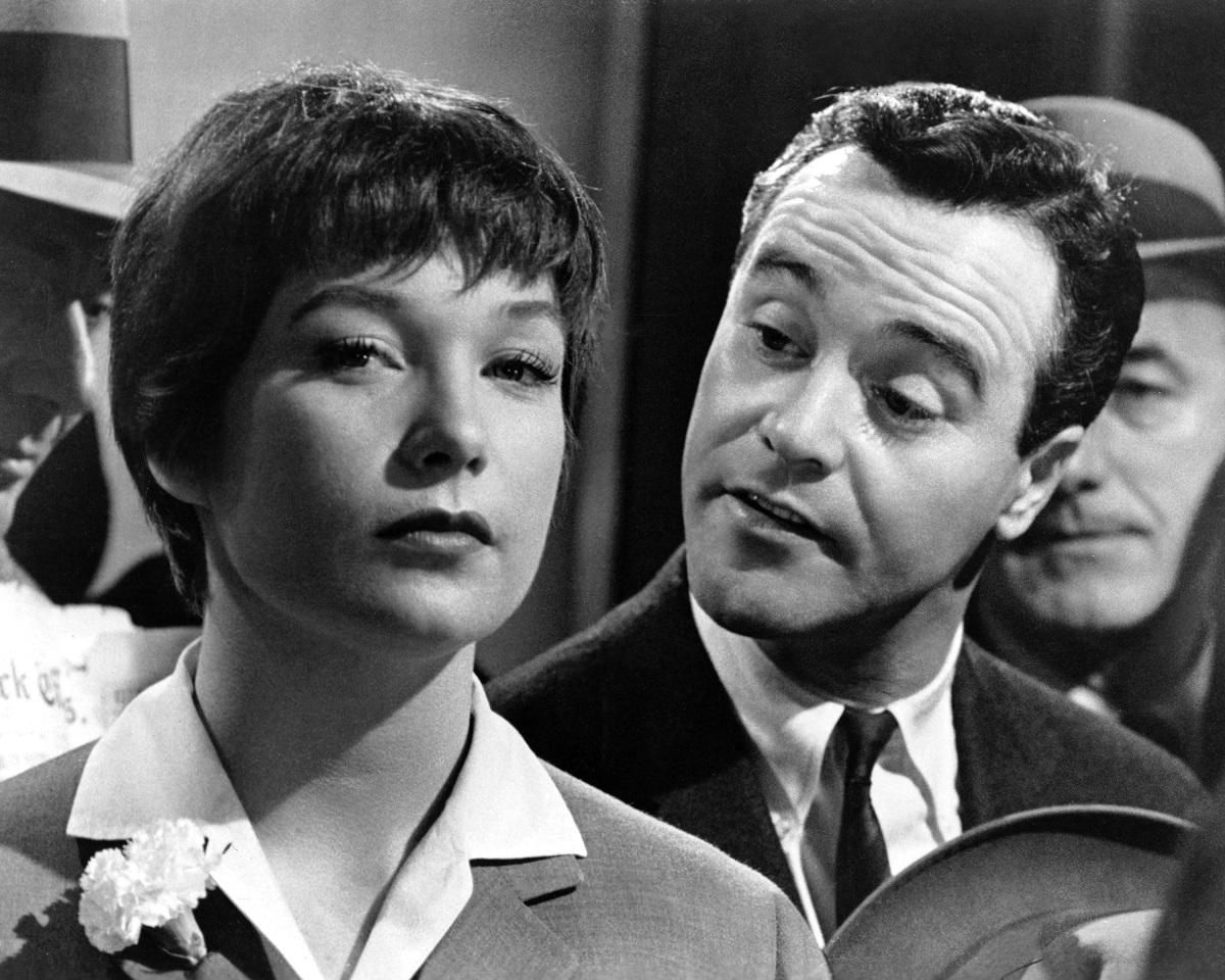 Shirley MacLaine and Jack Lemmon