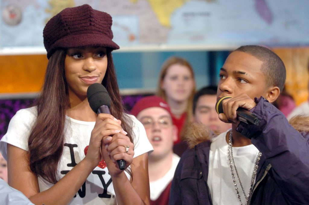 Solange Knowles and Bow Wow