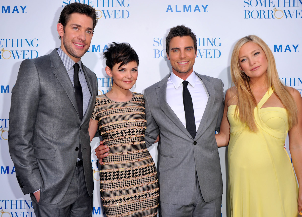 John Krasinski, Ginnifer Goodwin, Colin Egglesfield, and Kate Hudson