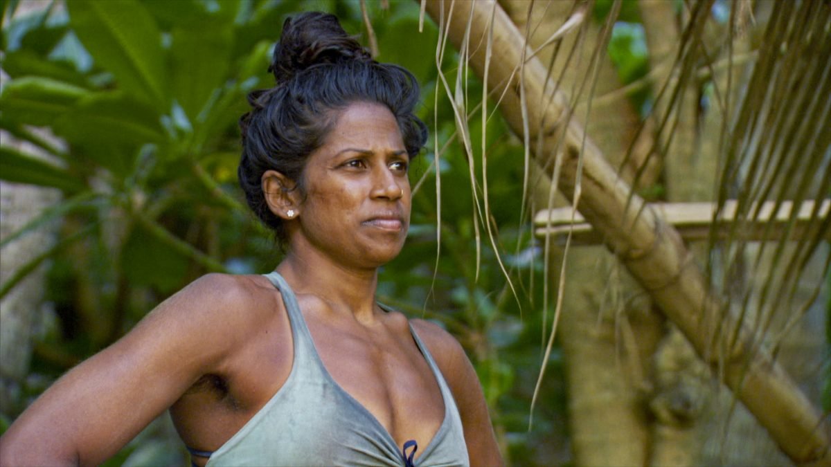 Natalie Anderson on the three-hour season finale episode of 'Survivor: Winners at War'