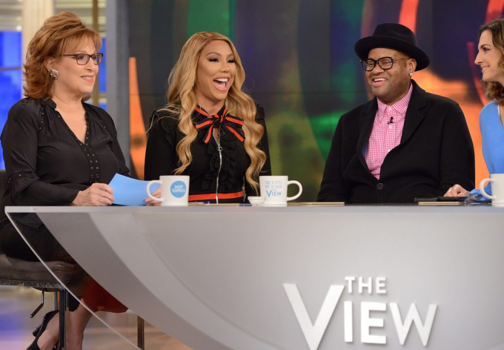 Tamar Braxton and Vincent Herbert on 'The View'