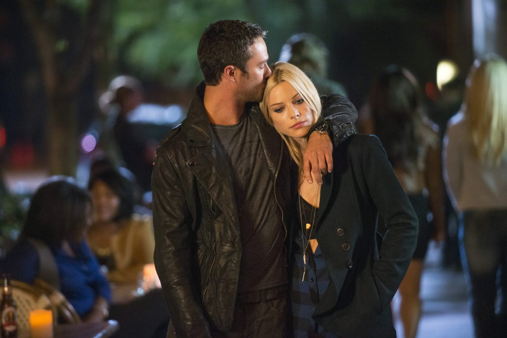 Taylor Kinney as Kelly Severide and Lauren German as Leslie Shay |  Matt Dinerstein/NBCU Photo Bank/NBCUniversal via Getty Images