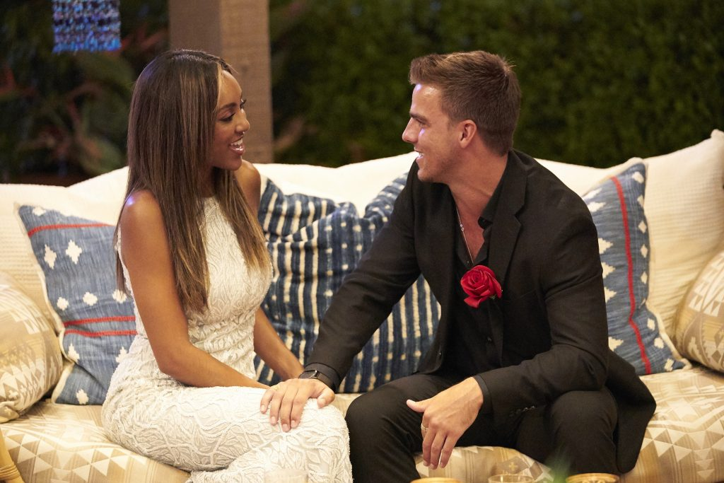 'The Bachelorette' Tayshia Adams and Noah Erb