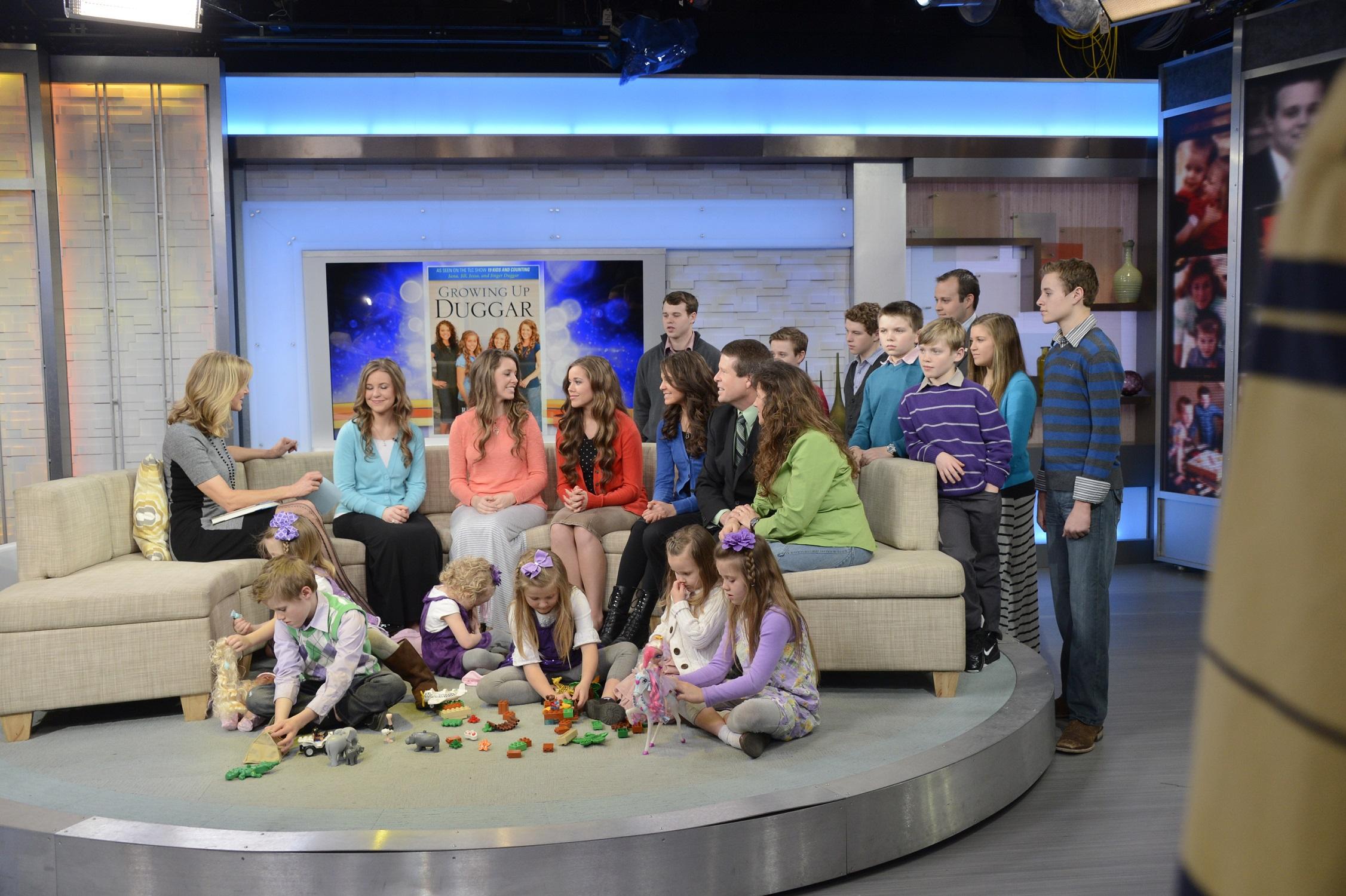 The Duggar family appears on 'Good Morning America'
