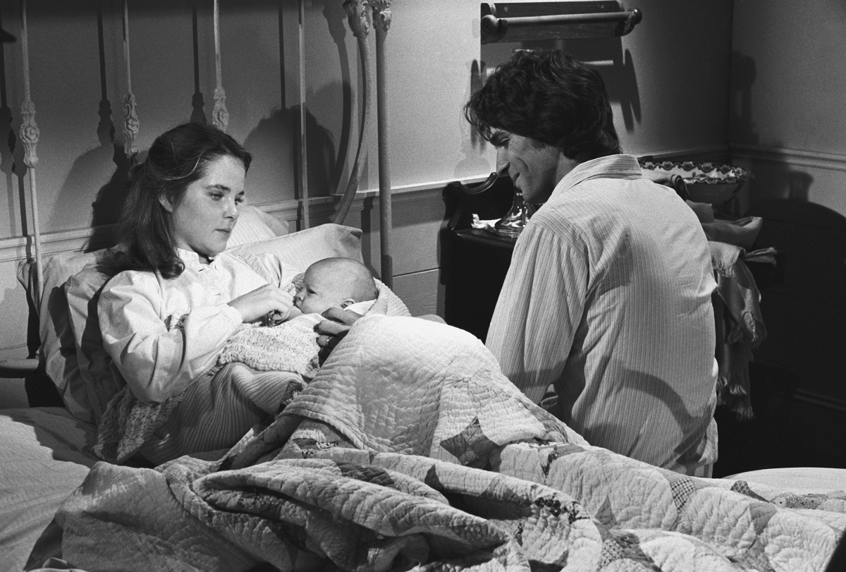 Melissa Sue Anderson as Mary Ingalls Kendall and Linwood Boomer as Adam Kendall