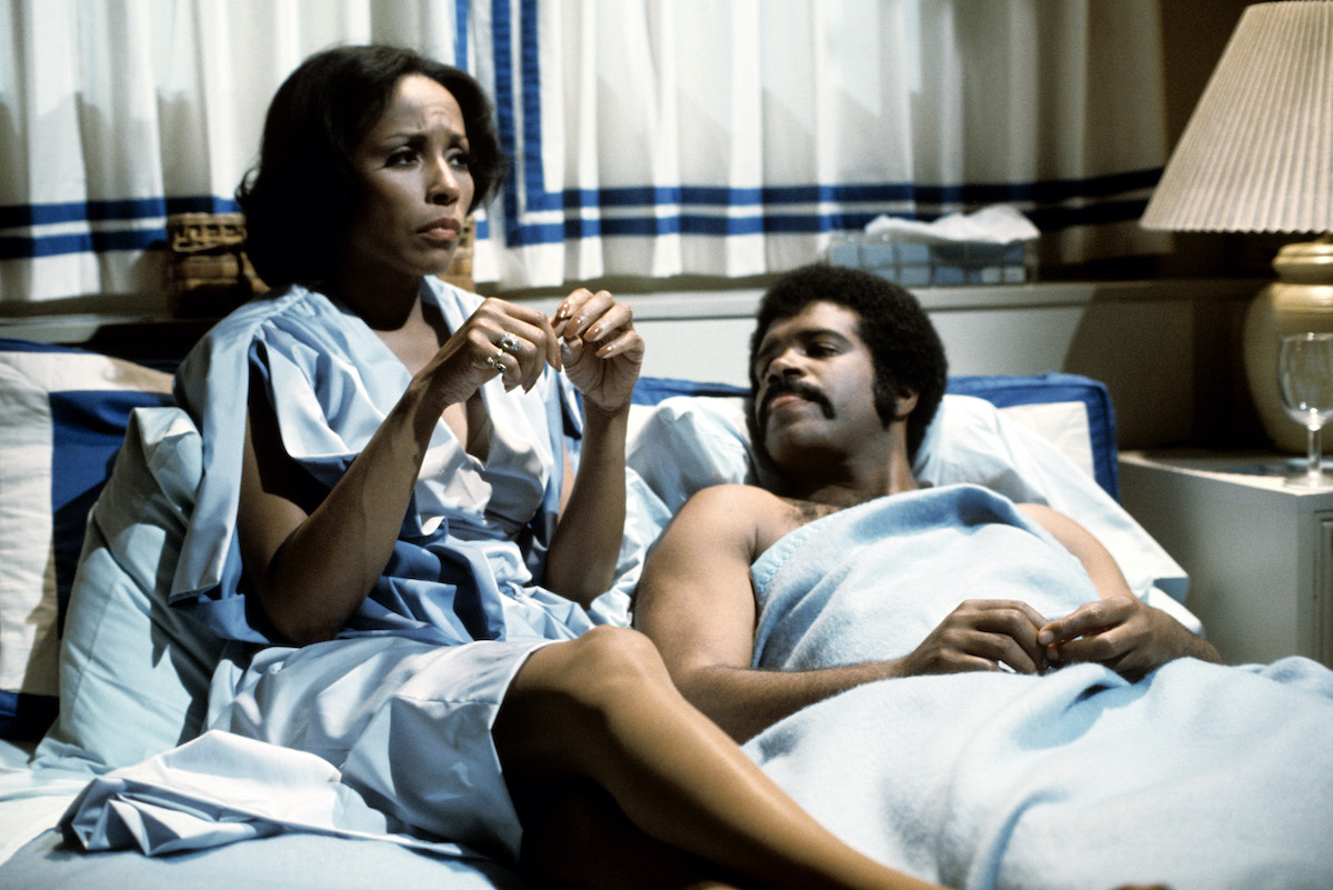 Ted Lange and Diahann Carroll