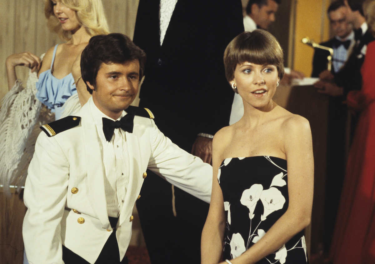 Fred Grandy and Lauren Tewes