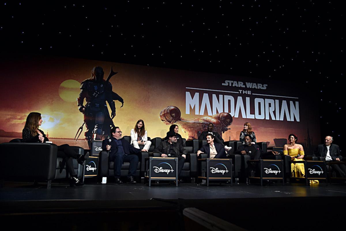 'The Mandalorian' premiere at the El Capitan Theatre in Hollywood, Calif.