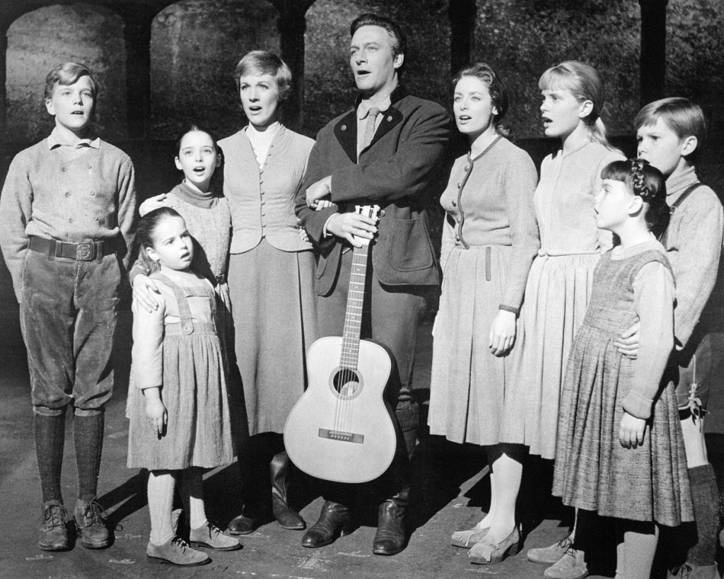 The Sound of Music cast depicts the real family