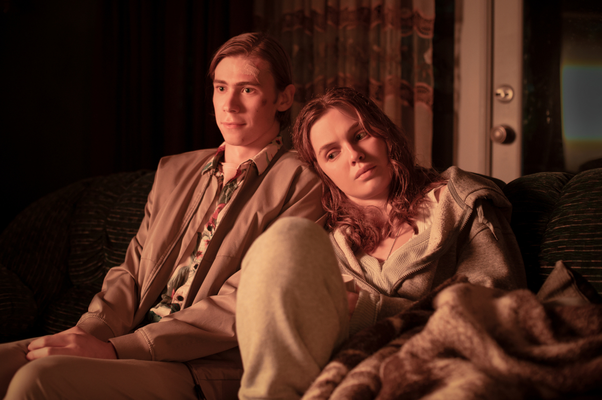 The Stand: Owen Teague and Odessa Young