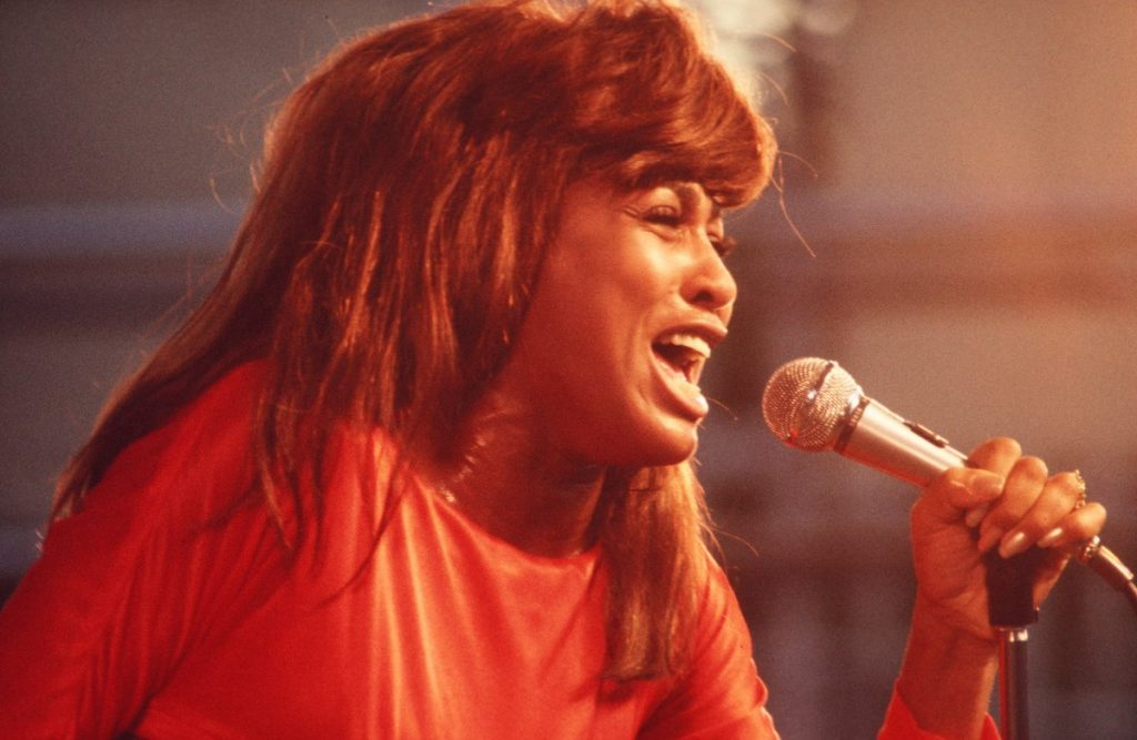Tina Turner performs during a concert at Central Park in 1969 in Manhattan, New York | Walter Iooss Jr./Getty Images