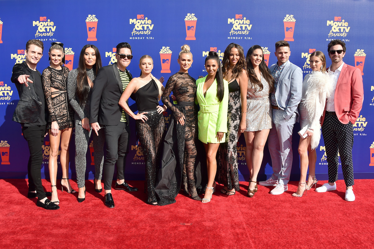 The cast of Vanderpump Rules attends the 2019 MTV Movie and TV Awards