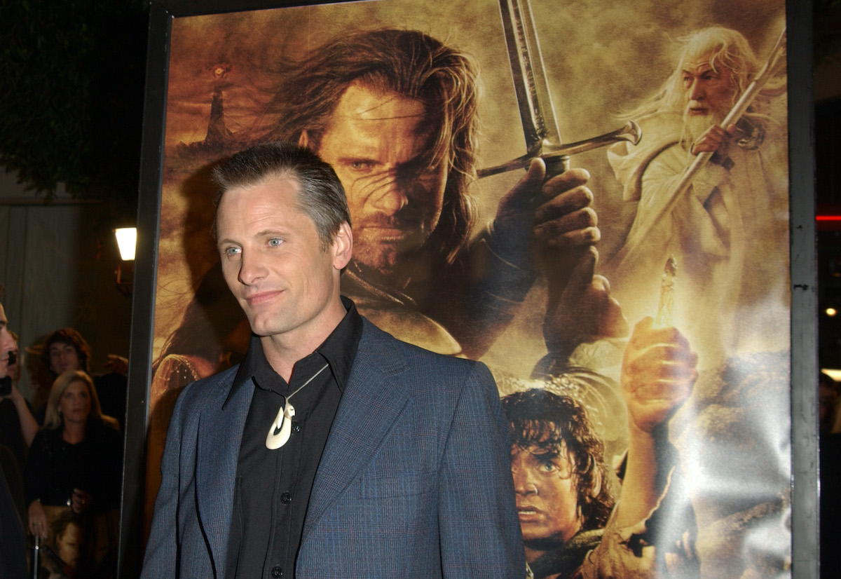 Viggo Mortensen at 'The Lord Of The Rings: The Return Of The King' premiere