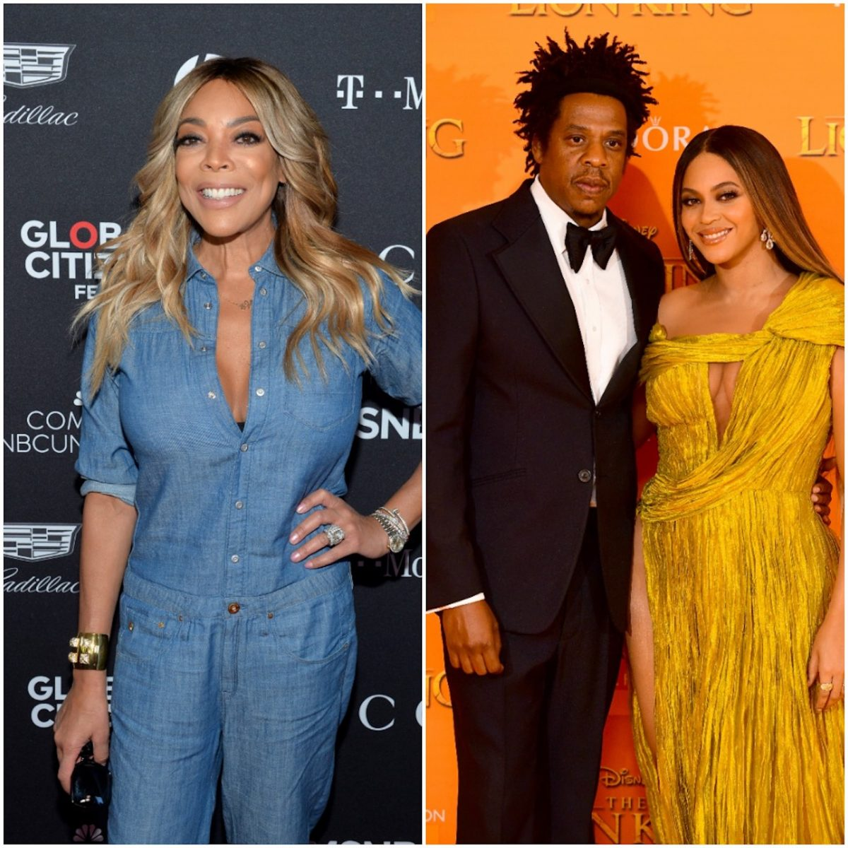 Wendy Williams, Jay-Z, and Beyoncé