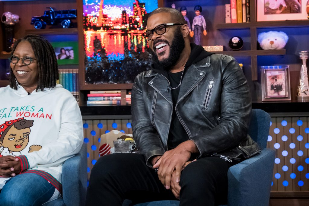 Whoopi Goldberg and Tyler Perry