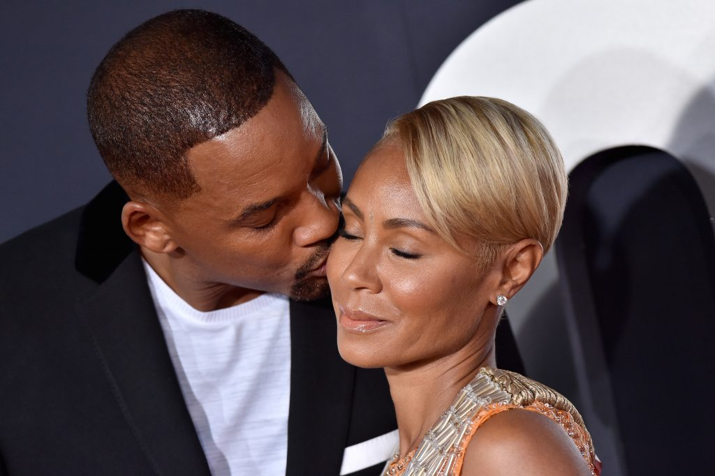 Will Smith and Jada Pinkett Smith attend Paramount Pictures' Premiere of 'Gemini Man'