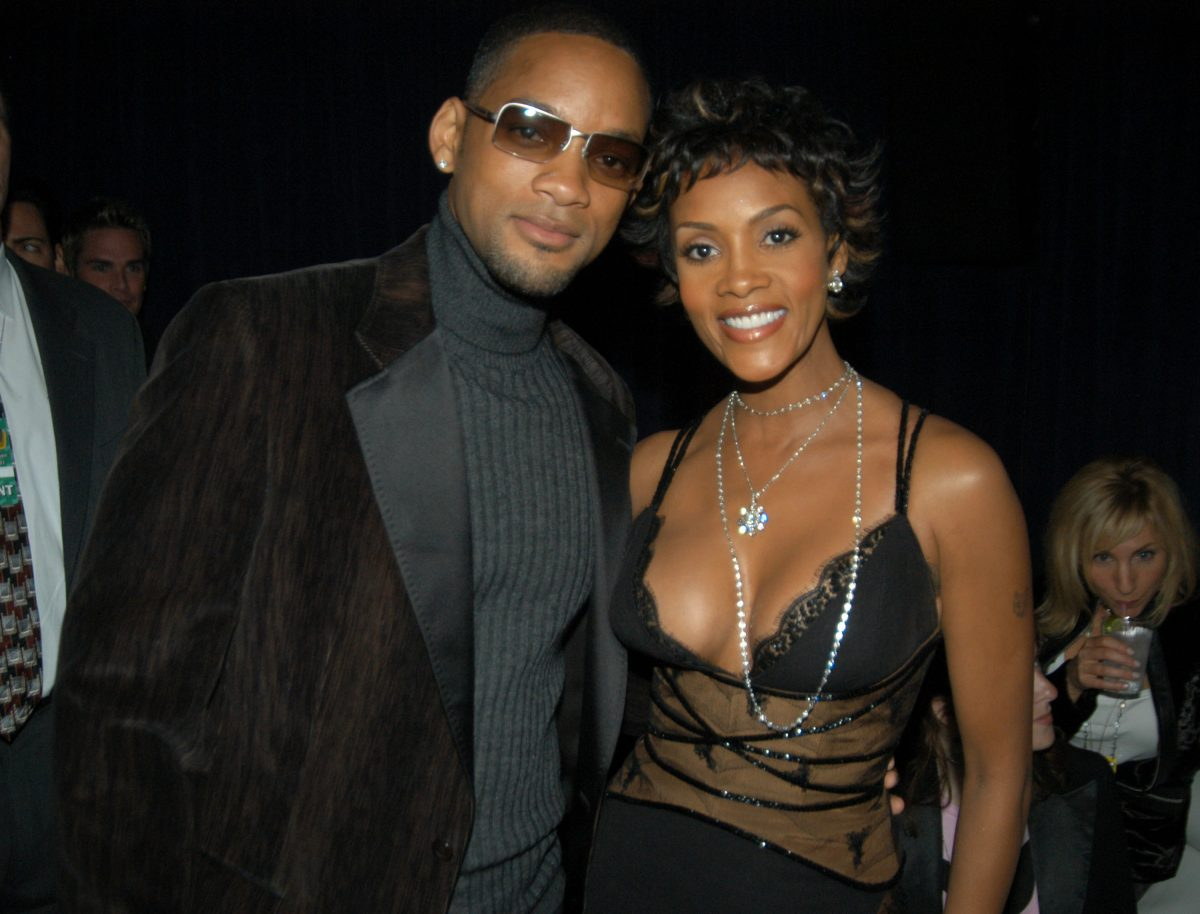 Will Smith and Vivica A. Fox during VH1 Big in 2003 - Backstage and Audience at Universal Amphitheater in Universal City, California, United States.