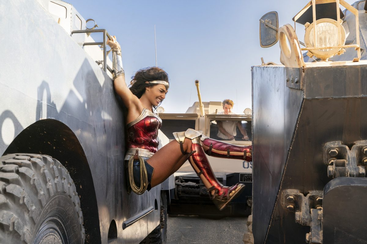 Wonder Woman 1984 convoy