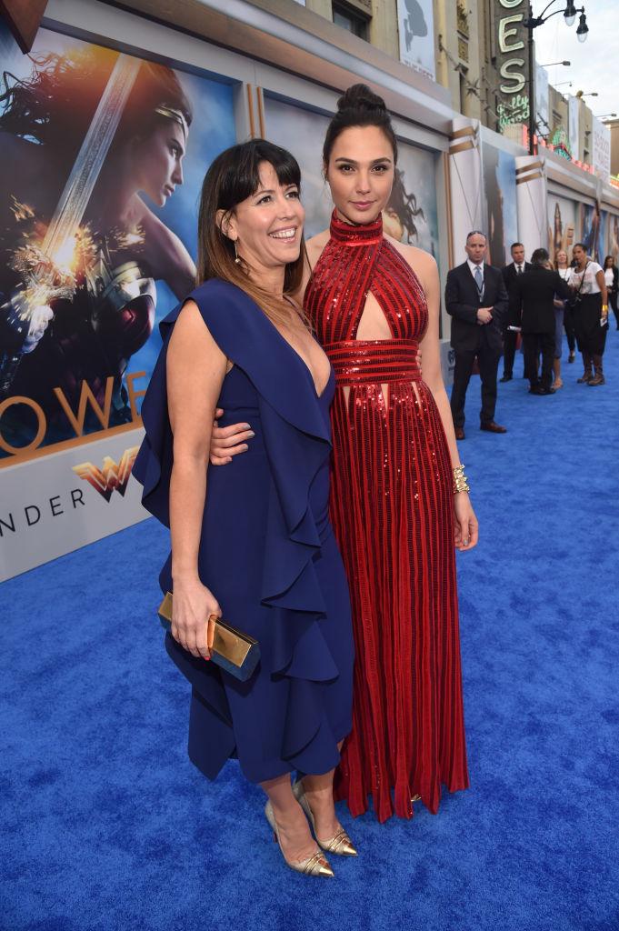 Wonder Woman Director Patty Jenkins and actor Gal Gadot