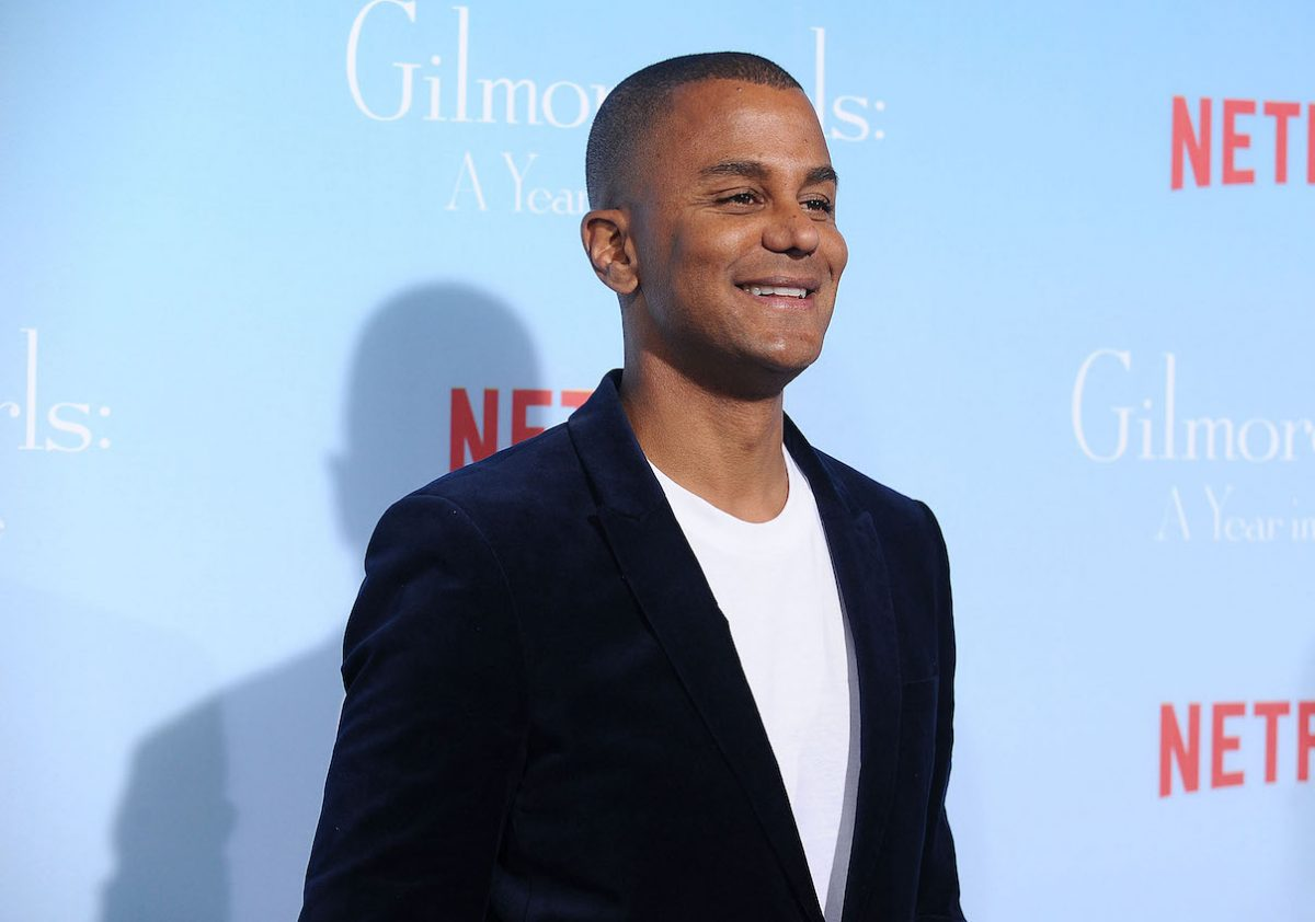 Yanic Truesdale at the premiere of 'Gilmore Girls A Year in the Life
