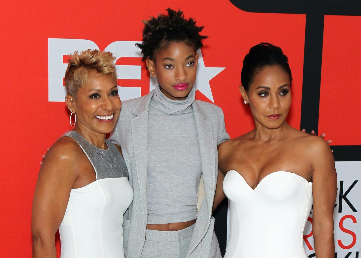 Adrienne Banfield Norris, Willow Smith, and Jada Pinkett Smith attend the BET's Black Girls Rock!