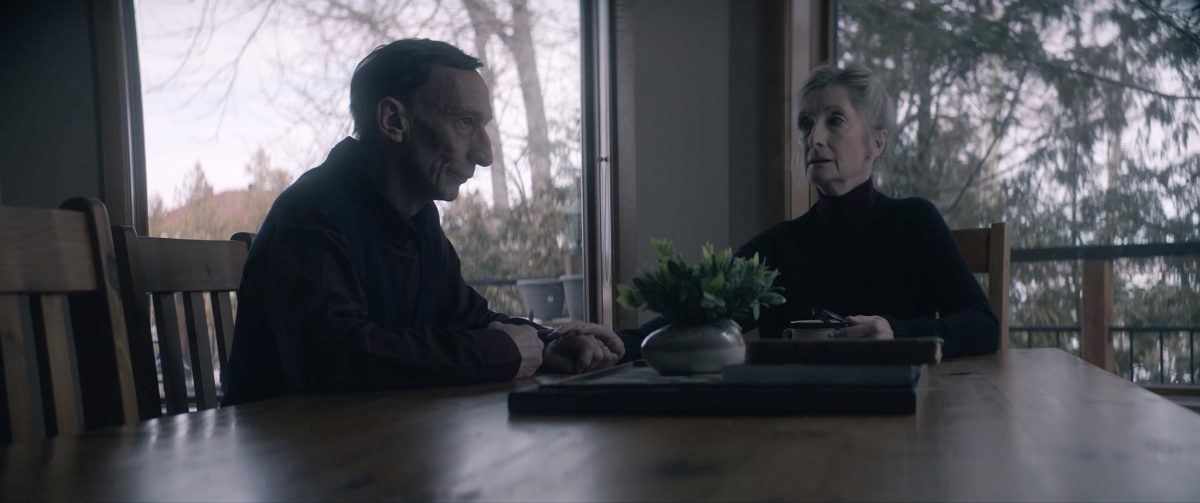 Julian Richings and Sheila McCarthy in 'Anything for Jackson'