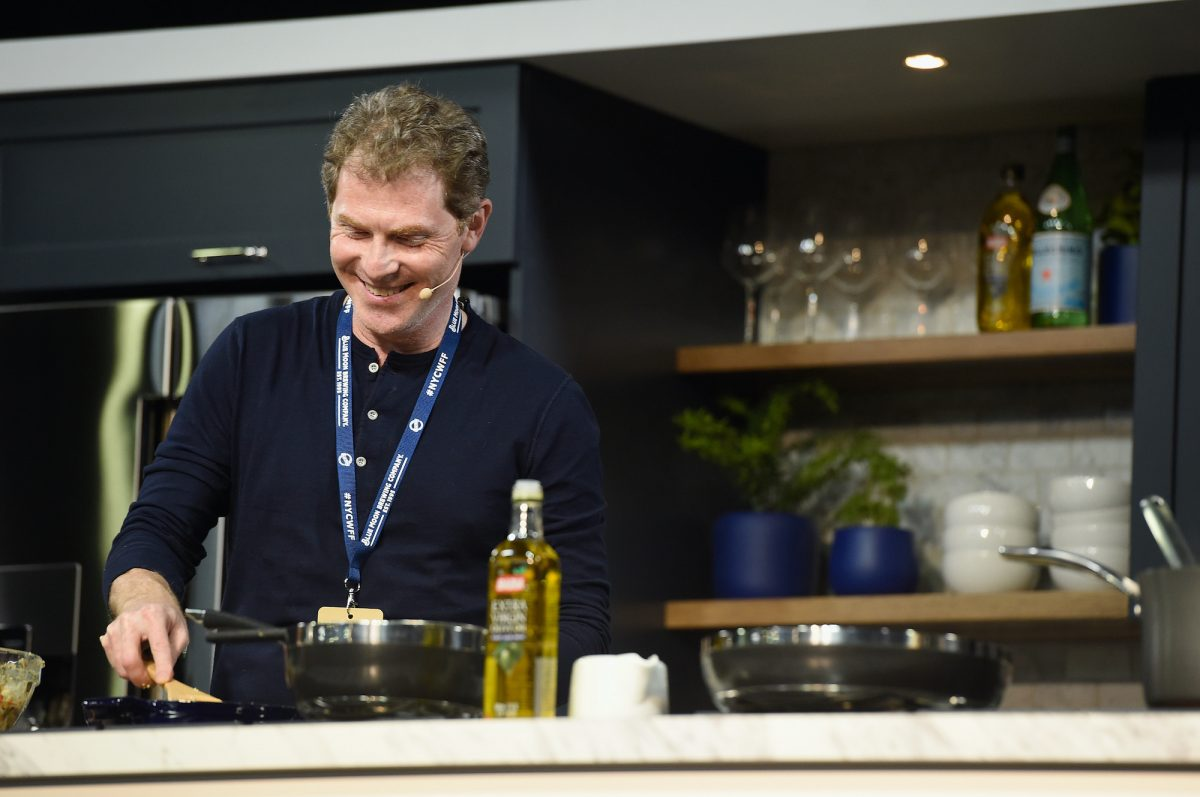 Chef Bobby Flay on stage