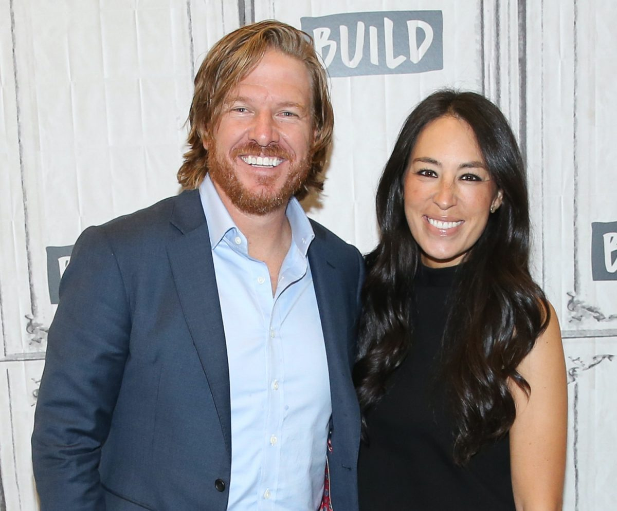 Chip Gaines and Joanna Gaines attend the Build Series in 2017