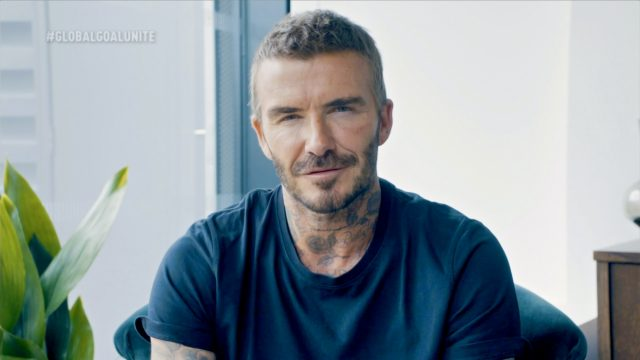David Beckham Just Proved He'll Be a Silver Fox in His 70s — All for a Good Cause