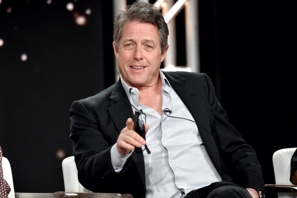 Hugh Grant of 'The Undoing' appears onstage during the HBO segment of the 2020 Winter Television Critics Association Press Tour
